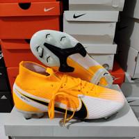 Sepatu Bola Nike Mercurial Superfly 7 Laser orange Elite FG - soccer P