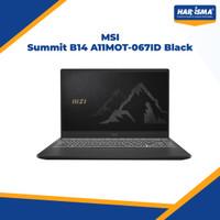 MSI Summit B14 A11MOT-067ID Black I5-1135G7/8GB/512GB SSD/TouchScreen