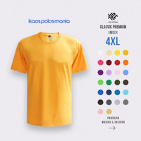 kaos Polos KPM Apparel Classic Premium size 4XL