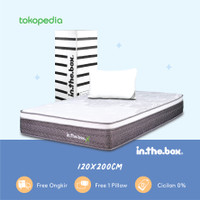 Kasur Spring Bed Inthebox X Ukuran 120 x 200 (Full) FREE SHIPPING