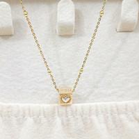kalung emas dadu love 16k/70%