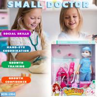 SMALL DOCTOR boneka barbie mainan anak dokter meningkatkan imajinasi