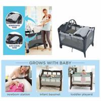 Baby Box Ranjang Bayi Graco Pack n' Play Reversible Napper Changer LX