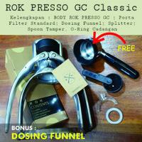 ROK PRESSO | MANUAL ESPRESSO MAKER