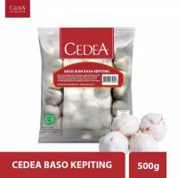 CEDEA Salmon Ball Shrimp Crab 500 g Halal   Baso Kepiting Udang