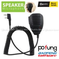 Speaker Microphone for Extra Mic Walkie Talkie Pofung Baofeng UV5R 888