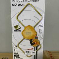 Antena TV Toyosaki Aio 200 Indor Audor Analog Digital FULL HD