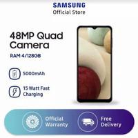 Samsung Galaxy A12 4/128 GB - Black [ batam ]