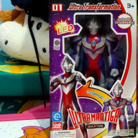ACTION FIGURE ULTRAMAN ULTRA TRANSFORMATION Ultraman Orb Tiga zagi