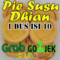 Kue Pie Pai Pay Susu Piesusu Dhian Isi 10 Asli Bali Dian Bekasi Bukan