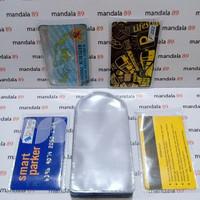 PLASTIK KARTU KTP SIM ATM ID CARD PELINDUNG KARTU SERBAGUNA ANTI GORES