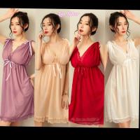 Lingerie Sexy Dress Baju Tidur Seksi Wanita Premium M L XL XXL XXXL