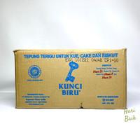 tepung terigu kunci biru 1kg dus 12 pouch