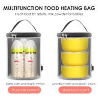 Tas Pemanas Makanan dan Botol Susu Bayi Portable Multifungsi