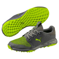 Puma Golf Men Grip Fusion Sport Limepunch Shoes-19120704