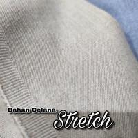 Kain Bahan Celana Semi Wool Stretch Bagus Murah Eceran Meteran