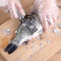 Pembersih Sisik Ikan Bahan Stainless Steel Alat Pengupas Kerokan Sisik
