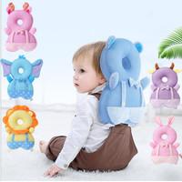 Bantal Pelindung Kepala Bayi Ransel Motif Animal Baby Head Protector