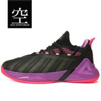 Sepatu Basket PEAK TONY PARKER 7 Black/Lilac - 45