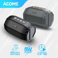 ACOME Speaker Bluetooth 5.0 Hi-Fi Sound TWS 5W Portable A2