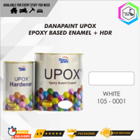 Cat Lantai Epoxy UPOX Dana Paint Floor Coatings - 0001 White