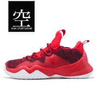 Sepatu Basket PEAK Streetball Master Low Cutting Shoes RED - 45