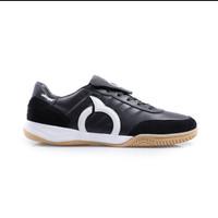 Sepatu Futsal Ortuseight Jogosala Rabona Full Leather - Black/gold, 40