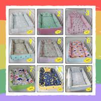 Kasur Baby Set Kotak - Baby Nest Free Bantal Anti Peang