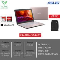 Asus X441BA-GA443T A4-9125 4GB 1TB WIN10 ROSEGOLD