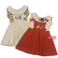 Dress Najwa uk 3-4 Tahun / Dres Cantika Yukensi Baju Anak Perempuan