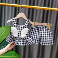 Setelan Baju dan Celana Bayi Perempuan Usia 6-15 Bulan Murah SPS004