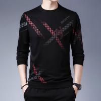 Baju Kaos Pria Lengan Panjang Atasan Cowok Elvy Fashion Kekinian