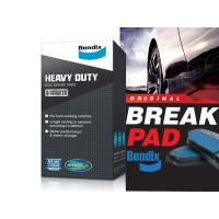 NISSAN Grand Livina 2008-2011 F Brake Pad Bendix Heavy Duty