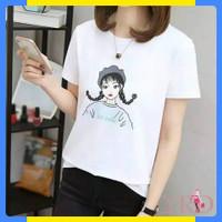 KAOS SO CUTE Baju Atasan Wanita / T-shirt Distro