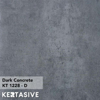 DARK CONCRETE - KERTASIVE PVC INTERIOR FILM - 60 CM