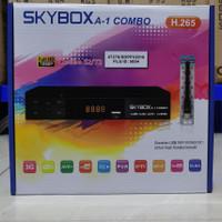 Receiver Parabola DVBS2 DVBt2 Skybox A1 Combo AVS Set Top Box