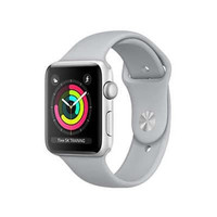Apple Watch Series 3 (38mm) SIlver Alumunium + White Sport MTEY2ID/A -