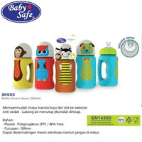 SK005 Baby Safe Soft Silicone Spout Bottle - Botol Tempat Minum Anak