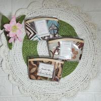 GROSIR Souvenir Pernikahan Dompet Batik Kotak|Dompet Koin murah - dompet saja
