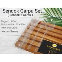 Sendok Garpu Set BENING Wrapping Hygienist PREMIUM