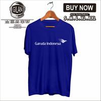 Kaos Baju Garuda Indonesia Airlines Logo Pesawat Kaos Profesi - Gilan - S