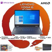 Lenovo Yoga 6 13ARE05 54ID | Ryzen 5 PRO 4650U 16GB 512SSD W10 13.3FHD