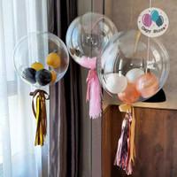 Balon PVC Transprant / PVC Balloon 24inch High Quality
