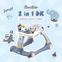 Cocolatte 2in1 Walker Fun Collection /alat bantu jalan bayi/Mainan