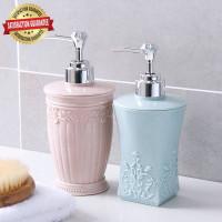 Tempat Botol Sabun Shampoo Lotion Cair Pump 400ml Bahan Plastik