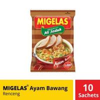 Mie Gelas MIgelas Ayam Bawang 10 Pcs Sachet
