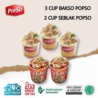 BAKSO SEBLAK CUP POPSO ISI 5 CUP x @350gr x @100gr