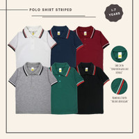 Polo Shirt Kaos Polo Anak Laki laki Stripe