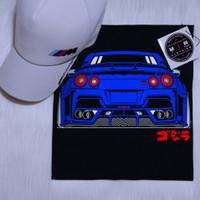 Kaos Mobil Nissan Skyline R35 Godzilla