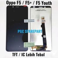 TFT LCD Touchscreen Fullset Oppo F5 / F5+ F5 PLUS / F5 Youth